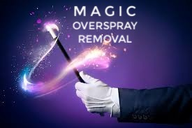 Magic Overspray Removal